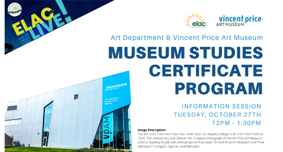 museum studies information session